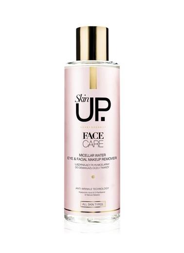 Skin UP Makyaj Temizleyici Losyon Göz & Yüz İçin Arındırıcı Makyaj Temizleme Suyu 200ml Renksiz